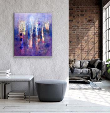 LA VOIX DE RÊVE, 2019, 101 x 89 cm (Disponibile)