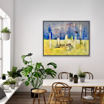 EMERSIONE, 2011-2018, 110 x 91 cm (Disponibile)