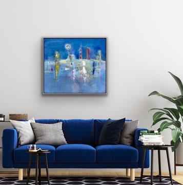 SUONI E PROFUMI DI UN LUOGO, 2020, 89 x 79 cm / CHF 5300.-