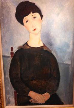 Un Modigliani parmi ses oeuvres préférées (avec des Renoir, des Cézanne, des Derain...