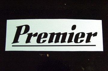 Logo 70's negro sobre blanco