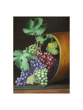 Bunches of grapes   30x40  cm   2006
