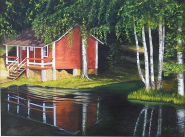 Quietness       80x60  cm  2005