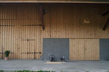 Stallumnutzung | Das verborgene Haus, Homburg: Hoffassade (Foto: Francesca Giovanelli)
