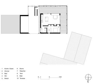 Stallumnutzung | Das verborgene Haus, Homburg: Grundriss Wohngeschoss