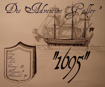 Adventure Galley 1695