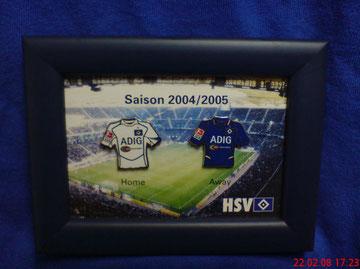 Trikot-Pins Saison 2004/2005