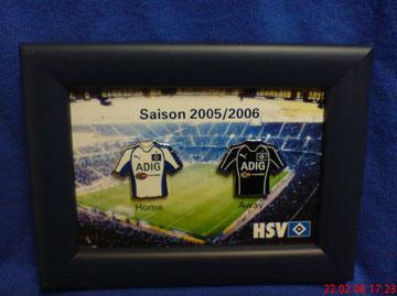 Trikot-Pins Saison 2005/2006