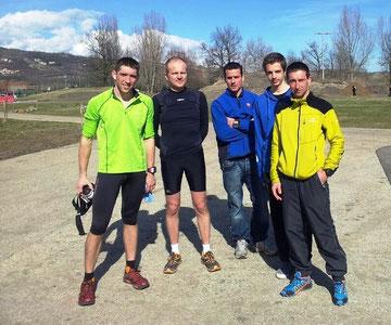 Trail de Cournon d'Auvergne, dimanche 10 mars 2013