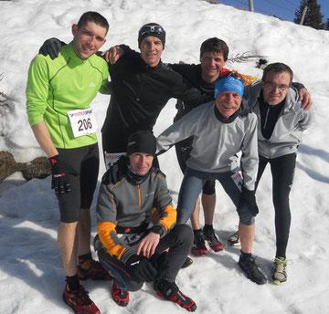 Trail de Saint Urcize, dimanche 3 mars 2013