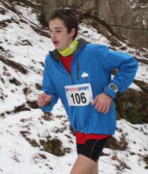 Trail de Volvic, Rémi Magenties, samedi 2 mars 2013