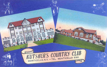 Kutsher's Country Club Post Card (Courtesy Mark Kutsher)
