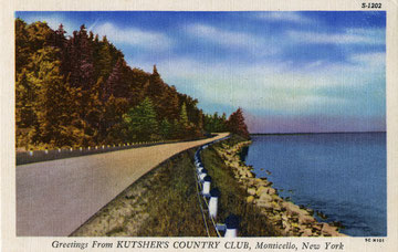 Kutsher's Road Postcard (Courtesy Mark Kutsher)