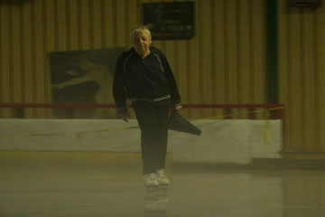 Celia Duffy Skates at Kutsher's Ice Arena - Film Still