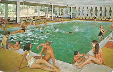 Kutsher's Indoor Pool Postcard (Courtesy Mark Kutsher)