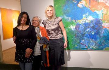 Masanne Westerman Rosen mit Pia Hamberger-Arce und Katja Herdramm