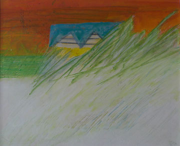Landschaft II 50 x 60 cm Acryl auf Leinwand