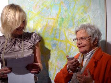 Masanne Westermann Rosen mit Katja Herdramm im Gespräch