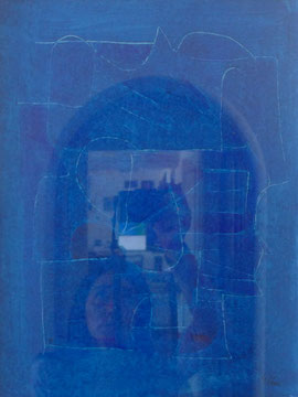 Kleine Gouache 30 x 40 cm Acryl auf Papier