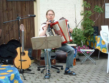 Akkordeonsolist Dirk