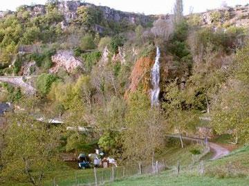 Cascade de La Roque Salles la Source