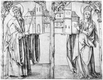 Kaiser Heinrich und Kunigunde