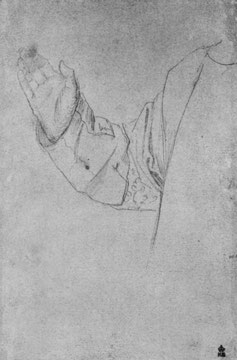 Studie für Hl. Stephanus: Arm