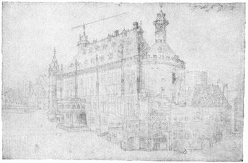 Das Rathaus in Aachen