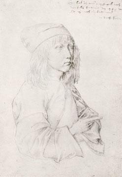 Dürers Selbstporträt als 13-jähriger Knabe