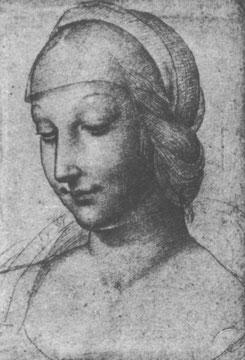 Kopf einer Frau