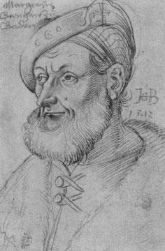 Porträt des Markgrafen Christoph von Baden