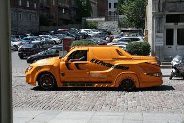 Une Jacky car