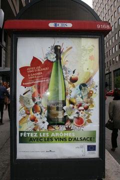Pub des vins d'Alsace à Montréal