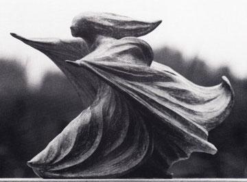 WINDSBRAUT (I) 1978, Bronze, Höhe 20 cm