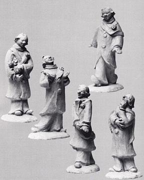 KLEINE CLOWNERIE 1967, Terrakotta, Höhe 24 cm