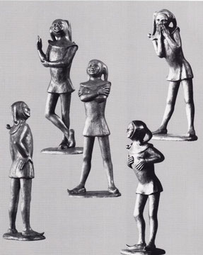 EULENSPIEGEL 1966, Bronze, Höhe 42 cm