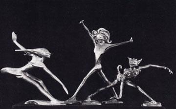 KOBOLDE 1970, Bronze, Höhe 40 cm