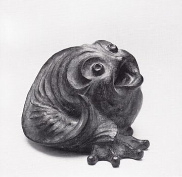 KLABAUTERMANN 1976, Bronze, Höhe 17 cm