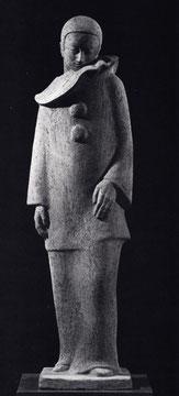 PIERROT 1968, Terrakotta, Höhe 78 cm