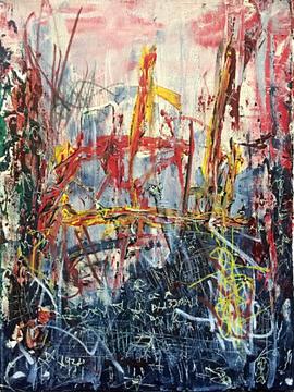 Untitled 2016 ACRYLIC ON CANVAS  50x30cm