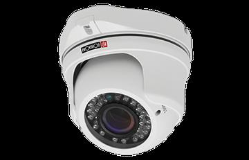 DI-380AHDEVF DI-380AHDEVF AHD IR DOME CAMERA VARI-FOCAL LENS 1.3 Mega-Pixel 720P AHD/Analog 36 LED (25m)