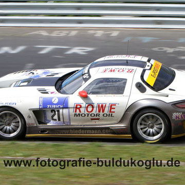 Mercedes-Benz SLS AMG GT3 ROWE Racing