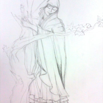 Dibujo en lápiz