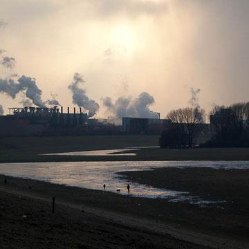Duisburg Bruckhausen Stahlwerke