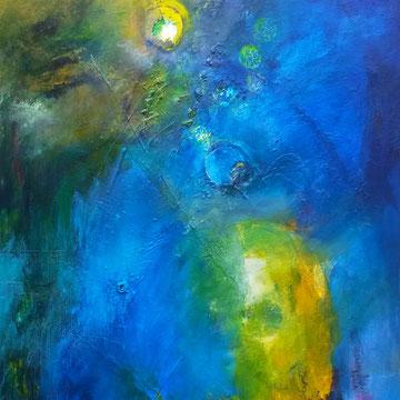 Cosmic jive  100 x 80cm