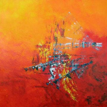 Movement 100 x 100 cm verkocht
