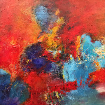 A story to tell, 80 x 120 cm