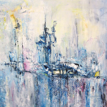 On a Journey 80 x 100 cm
