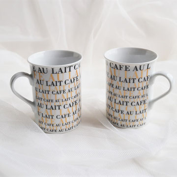 CAFE AU LAIT Tassen 2er-Set