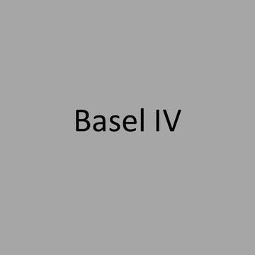 <h1> Basel IV - Überblick